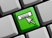Civil Service online — Stock Photo