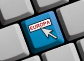 Europe online — Stock Photo