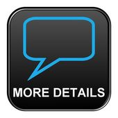 Black Button zeigt weitere details — Stockfoto
