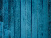 Turquoise wooden planks background — Stock Photo