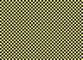 Checkered background black yellow — Stock Photo