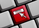 Press freedom online online — Stock Photo