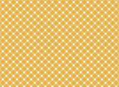 Retro tablecloth background orange white — Stock Photo