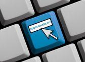 Substainability online — Stock Photo