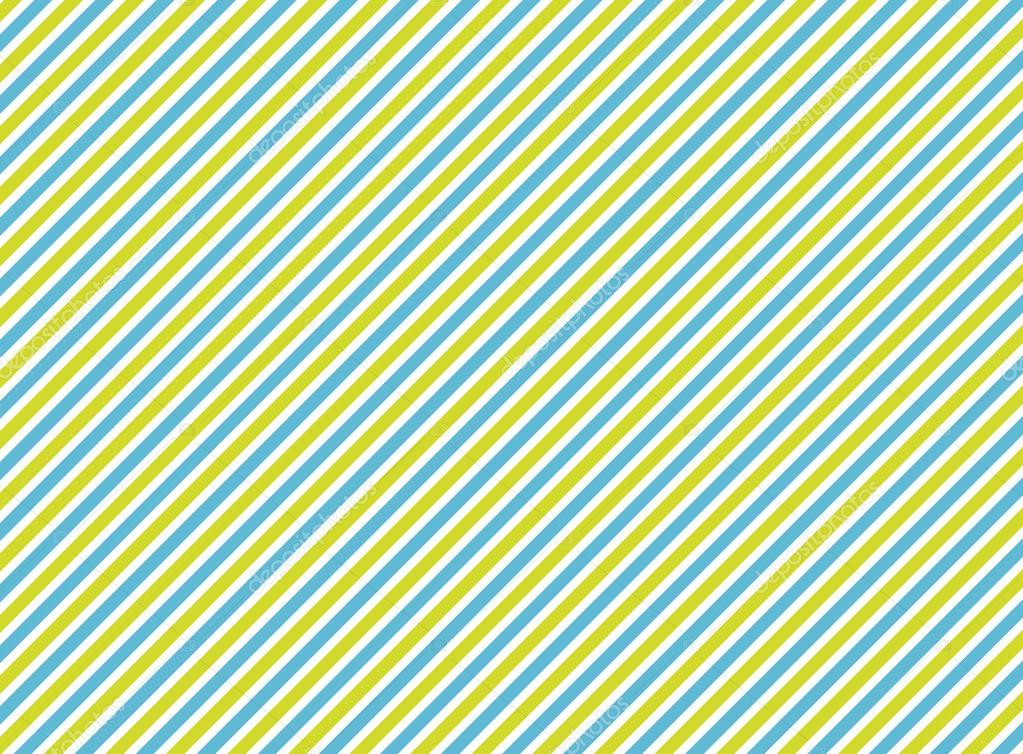 Stripe Blue Green And White: Background With Diagonal Stripes: Green, Blue, White