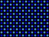 Dotted pattern with light blue and dark blue dots — Stock Photo