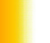 Background transition of dots orange white — Stock Photo