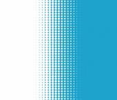 Background transition of dots turquoise white — Stock Photo