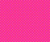 Dotted pink Background with yellow dots — Stock Photo