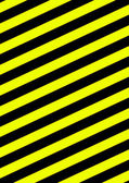 Background with diagonal stripes black and yellow — Stock Photo