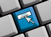 Share Economy online — Stock Photo
