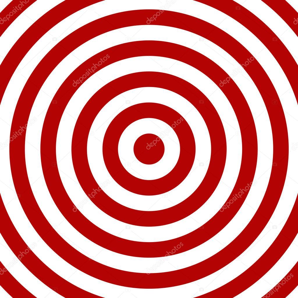 红色和白色圆圈 — 图库照片08keport#94418030