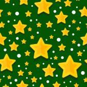 GoldStarVectorPatternBackgroundGreen — Vector de stock