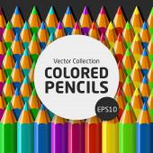 ColoredPencilsIllustration — Vector de stock