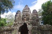 Ruins Entrance, Angkor Wat, Cambodia — Stok fotoğraf