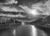 Dublin skyline — Stockfoto