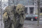 Famine Memorial Dublin — Stock Photo