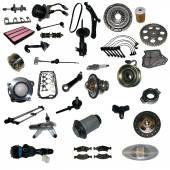 Car spare parts — Stock Photo