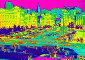 Infrared of Kiev — Stock Photo