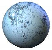 Abstract liquid sphere — Stock Photo