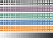 Stylish banner set - vector design — Stockvector