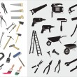 Set of various vector tools — Stock Vector #56853039