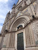 Detail of Orvieto Cathedral, Italy — Foto de Stock