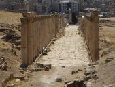 Decumanus, Jerash — Stock Photo