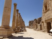 Ruins of Jerash, Jordan — Stock Photo