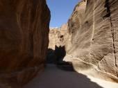 The Gorge in Petra, Jordan — Stock Photo
