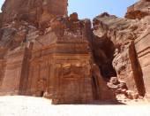 Royal Tombs Petra Jordan Middle East — Stock Photo