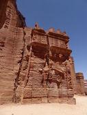 Ruins at Petra, Jordan — Stock Photo