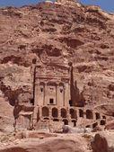 The Urn Tomb at Petra in Jordan — Stock Photo