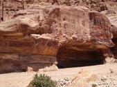 Tumbs in Petra, Jordan — Stock Photo