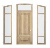 Wood doorframe — Stock Photo