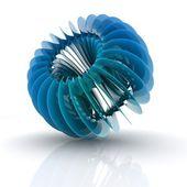 3D helix shape — Stock Photo