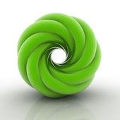 3D helix shape — Zdjęcie stockowe