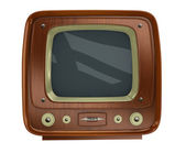 Old tv set — Stock Photo