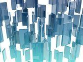 Стеклянные прямоугольники — Стоковое фото