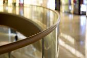 Mall guardrail — Stock Photo