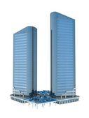 Single skyscraper — Stock Photo