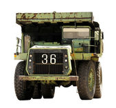 Coal mining truck old — Photo