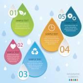 Energy Infographic — Stock Vector