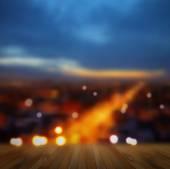 City blurred landscape — Stock Vector