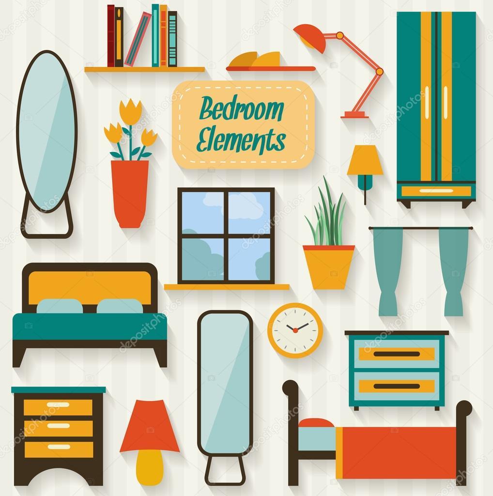 Muebles y objetos de la habitaci n archivo im genes for Bedroom y sus partes en ingles