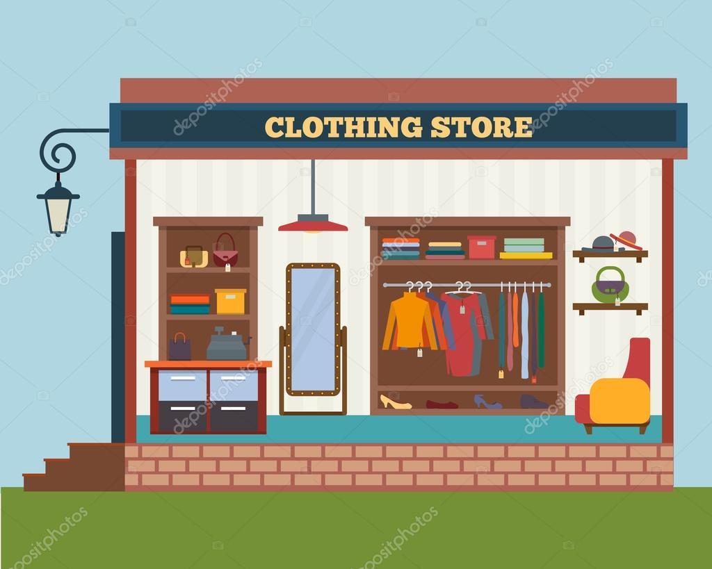 Big man clothes store