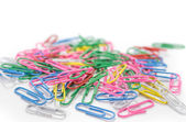Colorful Paper Clips — Stock Photo