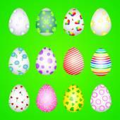 Texture of eggs — Stock Vector