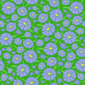 Seamless texture of the flowers — Vetorial Stock