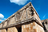 Ruins of Uxmal Mexico Yucatan — Stock Photo